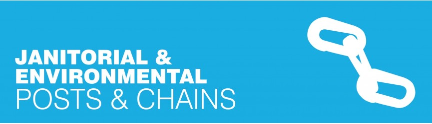 Janitorial Posts, Chains and Barriers