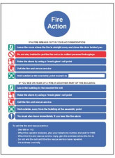 Action Notice for Housing with Communal Alarm
