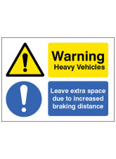 Heavy Vehicle Leave Extra Space Due to Increased Braking Distance
