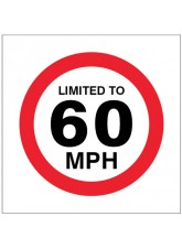 Limited to 60mph