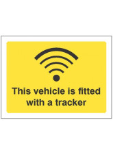 This Vehicle is Fitted with a Tracker