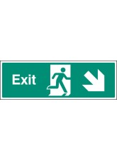 Exit - Down and Right