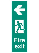 Fire Exit Left (Portrait)