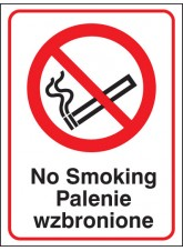 No Smoking (English / Polish)