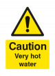 Caution Very Hot Water