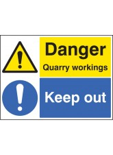 Danger Quarry Workings Keep Out