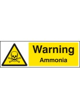 Warning Ammonia