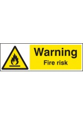 Warning Fire Risk
