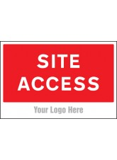 Site Access - Site Saver Sign - 600 x 400mm