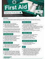 First Aid Workplace Poster - 420 x 594mm