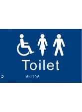 Braille - Toilet