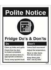 Refrigerator - Do's & Don'ts