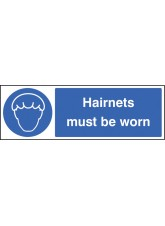 Hairnets Must be Worn