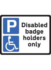 Disabled Badge Holders - Class R2 Permanent