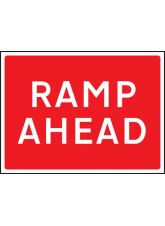 Ramp Ahead - Class RA1 - 1050 x 750mm