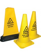 Your Message - Hazard Cone - 500mm - Round