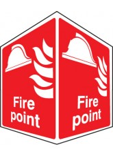 Fire Point - Projecting Sign