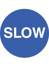 Slow - Floor Graphic