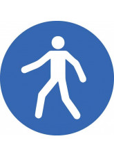 Pedestrian - Floor Graphic