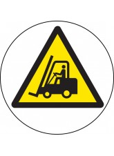 Forklift Truck - Floor Graphic