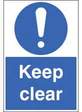 Keep Clear - Floor Graphic
