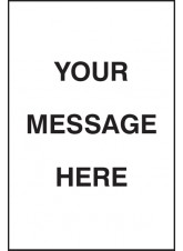 Your Message Here - Floor Graphic