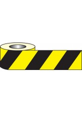 Anti Slip Tape - Black / Yellow Hazard - 18m x 50mm