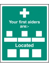 Your First Aiders Are