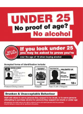 No Proof of Age No Alcohol