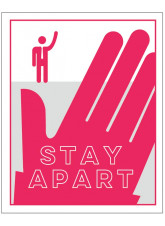 Stay Apart - Red